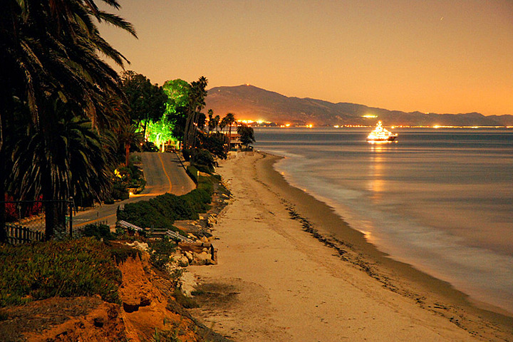 Channel Drive and Butterfly Beach in Montecito