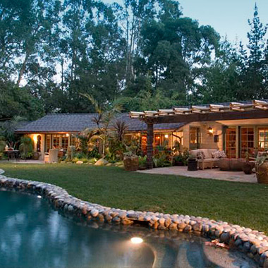 Tropical Paradise - Tranquil Vacation Rental Home in Montecito's Lower Village